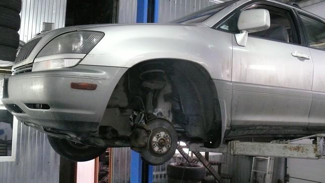 Замена рулевой машинки lexus Замена тосола с промывкой citroen