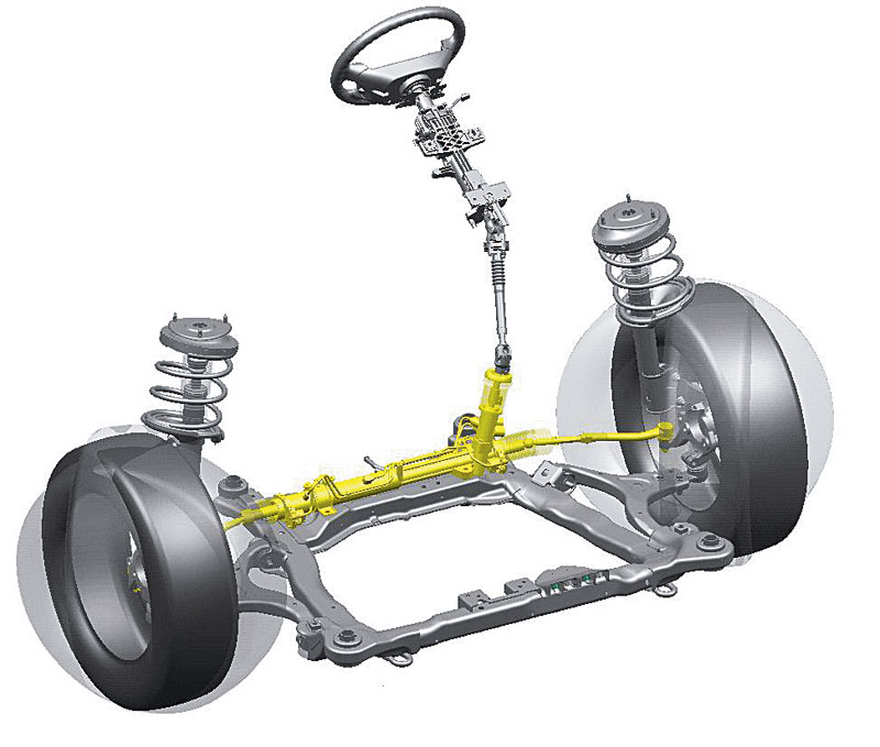Устройство и ремонт рулевых реек