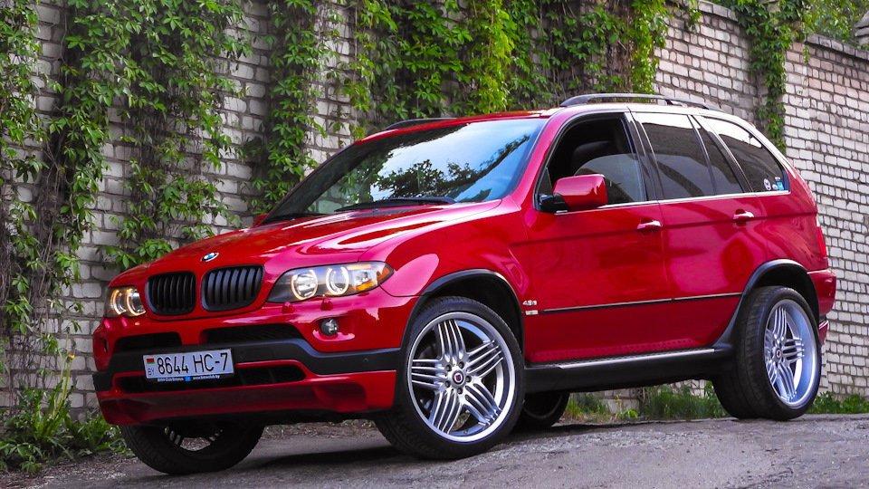 Основные признаки того, что пневмоподвеска BMW X5 E53 требует ремонта