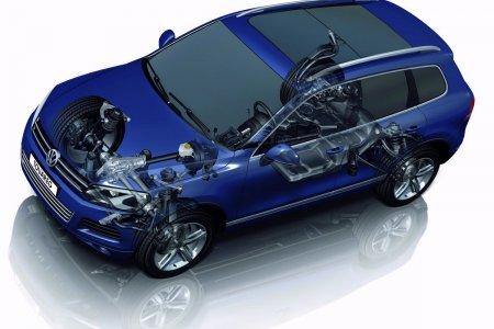 Volkswagen Touareg - стильный и практичный кроссовер с надежной подвеской. Так ли это?